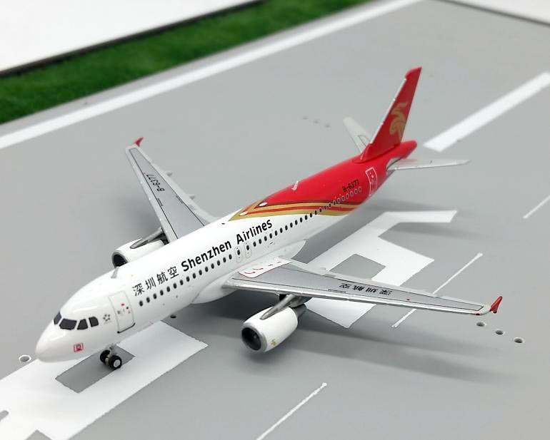 Genuine Wings 1:400 JC Shenzhen Airlines Airbus A320 Alloy plane model Collection model<br><br>Aliexpress