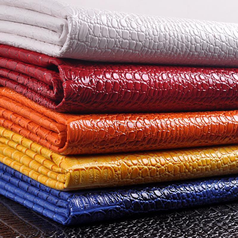 50x135cm Faux Crocodile Leather Sofa Synthetic Fur Fabric Fake Crocodile Skin Reptile Fabric Cuero Sintetico Furniture Textiles(China (Mainland))