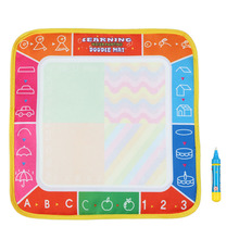 Popular Water Drawing Mat for Baby Kids Board Painting and Writing Doodle With Magic Pen Non-toxic Drawing Board 29 * 29 CM(China (Mainland))