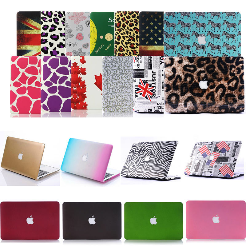 """Ultra-thin protective Smart Rubberized HardShell Satin Matte Case Cover Cartoon For15""""15.4""""inch Apple Macbook Pro+key board skin(China (Mainland))"""