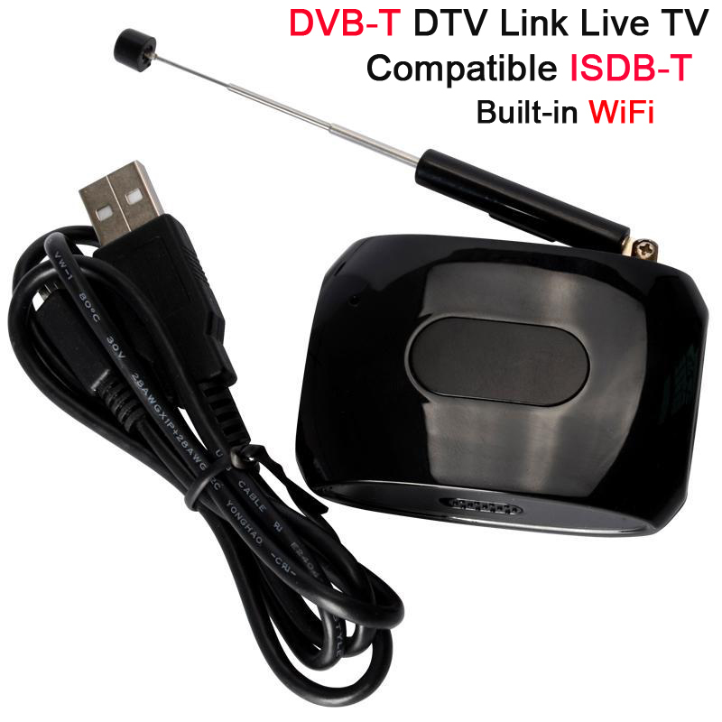 HD1080P TV Box DVB-T Wifi DVB-T DTV Link Live TV Tuner compatible with ISDB-T via Built-in WiFi for Android IOS Tablets XBMC<br><br>Aliexpress