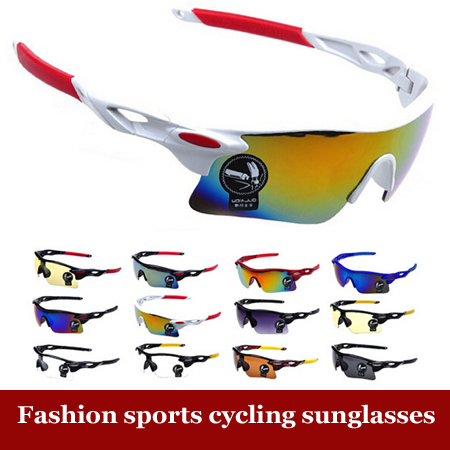 Men Women UV400 Cycling Glasses Outdoor Sport Mountain Bike MTB Bicycle Glasses Motorcycle Sunglasses Eyewear Oculos Ciclismo(China (Mainland))