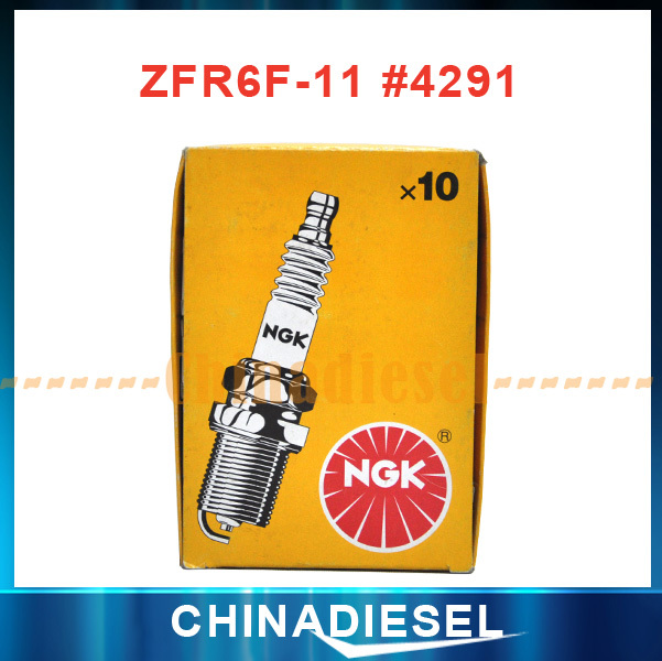 1 pieces/lot Global free shipping NGK ZFR6F-11 #4291 spark plugs for Toyota best price(China (Mainland))