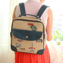 High-grade Korea Creative Travel Small Backpack Schoolbag Leisure Bag Shoulder Bag Cartoon School Bag for Kids Satchel(China (Mainland))