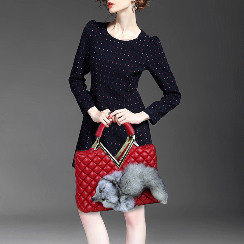 Top Quality Winter Women Messenger Bags Vintage High-grade Faux Leather Ladies Handbag Casual Diamond Lattice Bag 2 Colors<br><br>Aliexpress