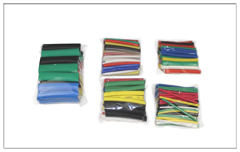 LDDQ 328pcs Tube  Heat shrink tube Heat Shrinking Tube wrap Heat sleeving 1mm 2mm 3mm 4mm 6mm 8mm14mm insulation Cable Sleeving