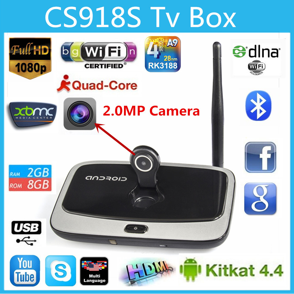 buy box android tv cs918s quad core camer within