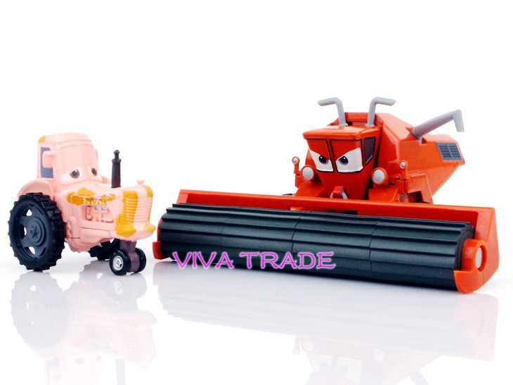 Tractor From Cars : Original pixar cars frank the combine harvester and