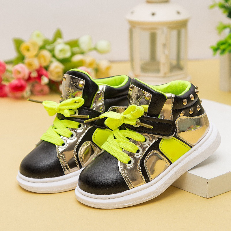 NEW 2016 Spring Fashion Kids Sneakers Breathable Baby casual shoes Boys Girls Flats Children High shoes 1.5(China (Mainland))