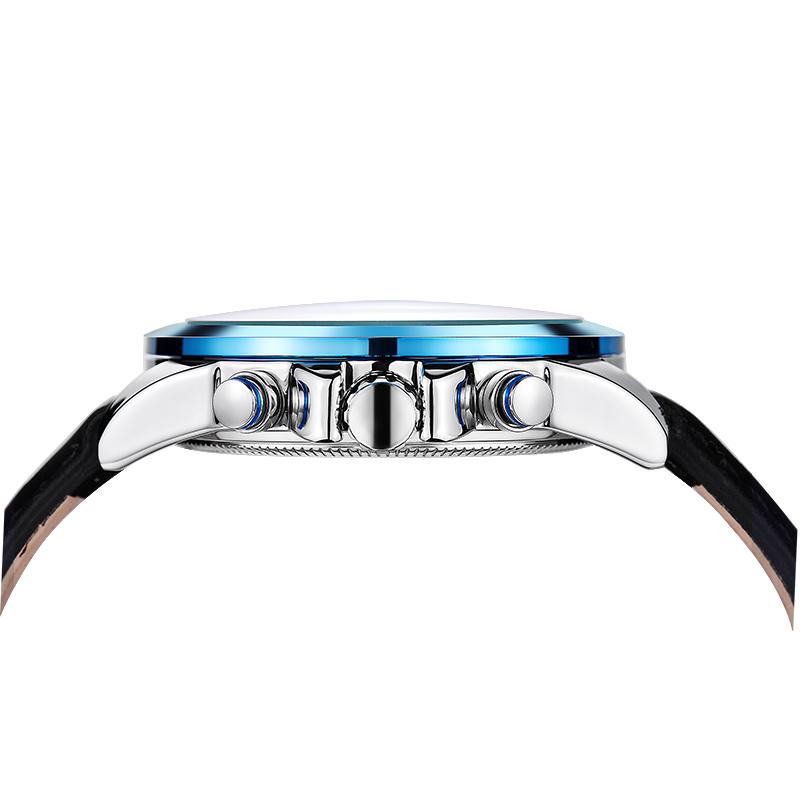 LONGBO Роскошные Мужчины Натуральная Кожа Часы Спортивные Кварцевые Часы Для Мужчин Мужской Досуг Часы Простые Часы Relogio Masculino 80193