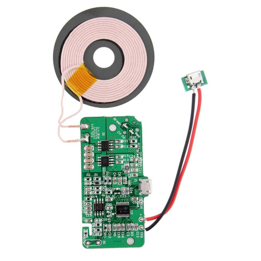 электрическая схема беспроводной зарядки qi