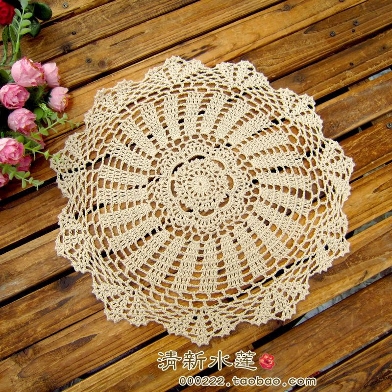 zakka vintage props decoration round table mat lace cup pads potjpg