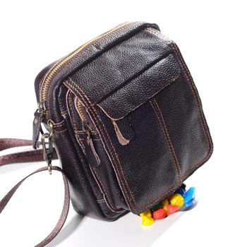 Big Promotion!Final Clear Out Style Man's Shoulder Bag Best Quality Men Bag Good Cow Leather Casual Man's Bag B-662