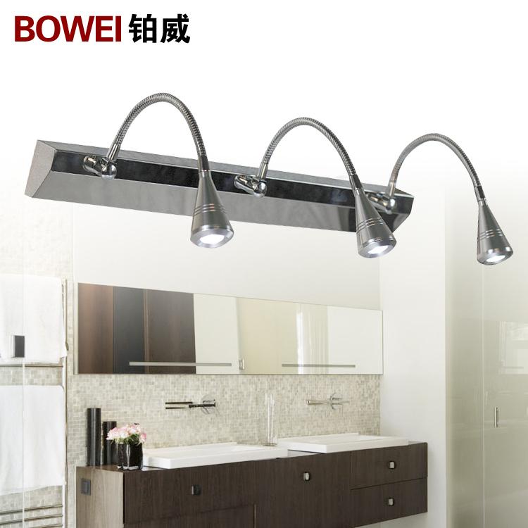 Modern brief fashion led mirror light bathroom mirror glass guanchong lighting fitting(China (Mainland))