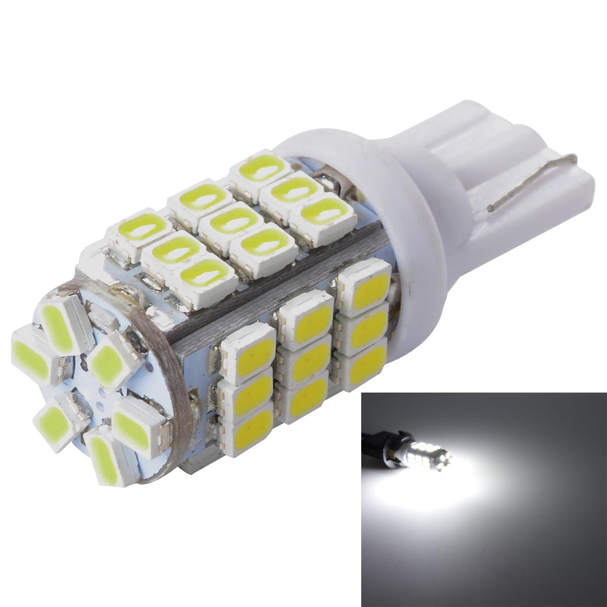 car styling 20pcs 12V 42SMD 1210 Car LED Bulbs Interior Ultra Bright White Lights T10 MA242