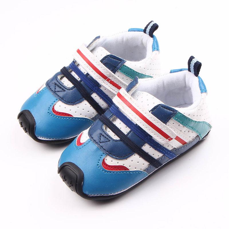 High Quality Cool Leather Hard Sole Baby Sports Walking