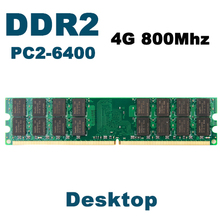 KVR800D2N6/4G DDR2 800Mhz 4GB Brand New DIMM Memory Ram memoria ram For desktop computer AMD motherboard(China (Mainland))