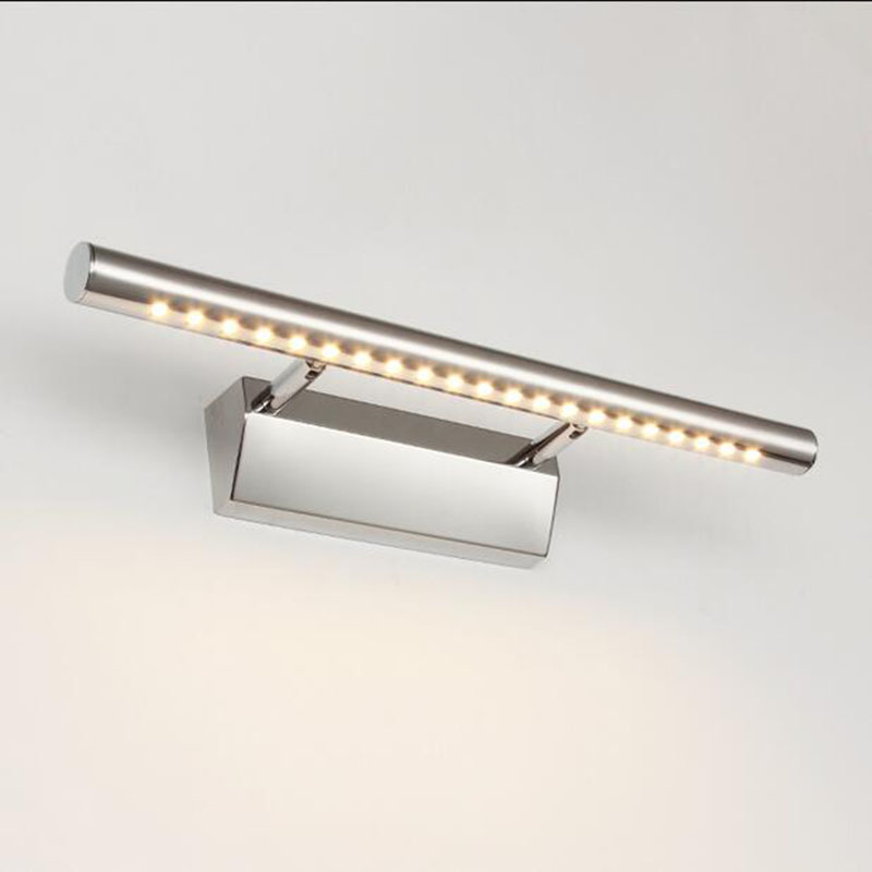 bathroom mirror lamp wall mounted light with switch front lampara de pared up down lamps stainless steel bathroom Lights(China (Mainland))