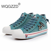 Women Stars High Top Canvas Shoes All Fashion Women Casual Canvas Shoes Zapatos Mujer Size35-40(China (Mainland))