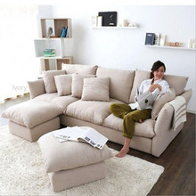 Webetop New Arrival Feather Cloth Sofa Modern Style Furniture Set Living Room Sofas Sofa Set Living Room Furniture(China (Mainland))