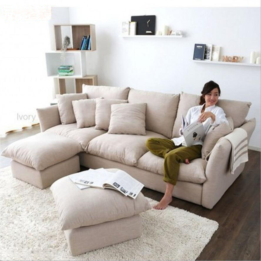 Webetop New Arrival Feather Cloth Sofa Modern Styl. Online Get Cheap Quality Sectional Sofa  Aliexpress com   Alibaba