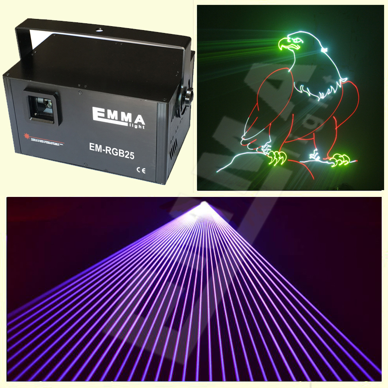PRO ANIMATION LASER DISCO DJ NIGHTCLUB LIGHT FULL COLOUR RGB RED GREEN BLUE(China (Mainland))