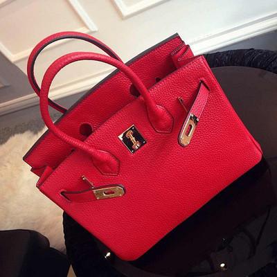 Limited Edition Top Brand bag 2015 women necessary handbag embossed Tote big hand practical Women Shoulder Bags Crossbody Bag(China (Mainland))