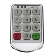 Digital Electronic Password Keypad Number Cabinet Code Locks Intelligent  CA1T(China (Mainland))