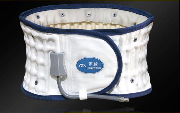 Lumbar disc protection belt lumbar muscle strain traction belt spine massage relieve back pain lumbar disc lumbar support(China (Mainland))