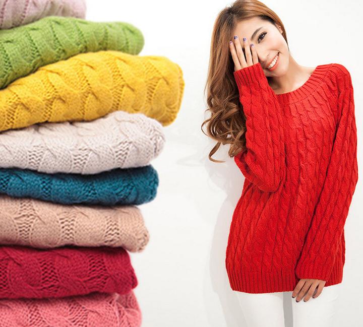 Женский пуловер Sweater SS192 pullover