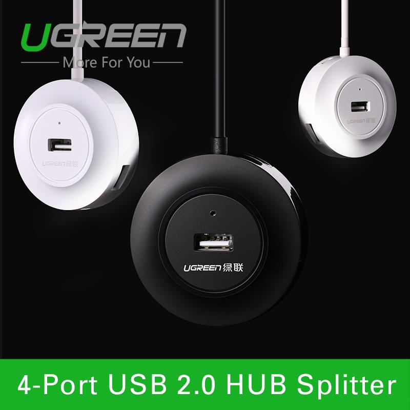 Ugreen 4 Port Micro USB 2.0 OTG HUB 1m high speed USB OTG HUB splitter cable with micro usb power port USB HUB<br><br>Aliexpress
