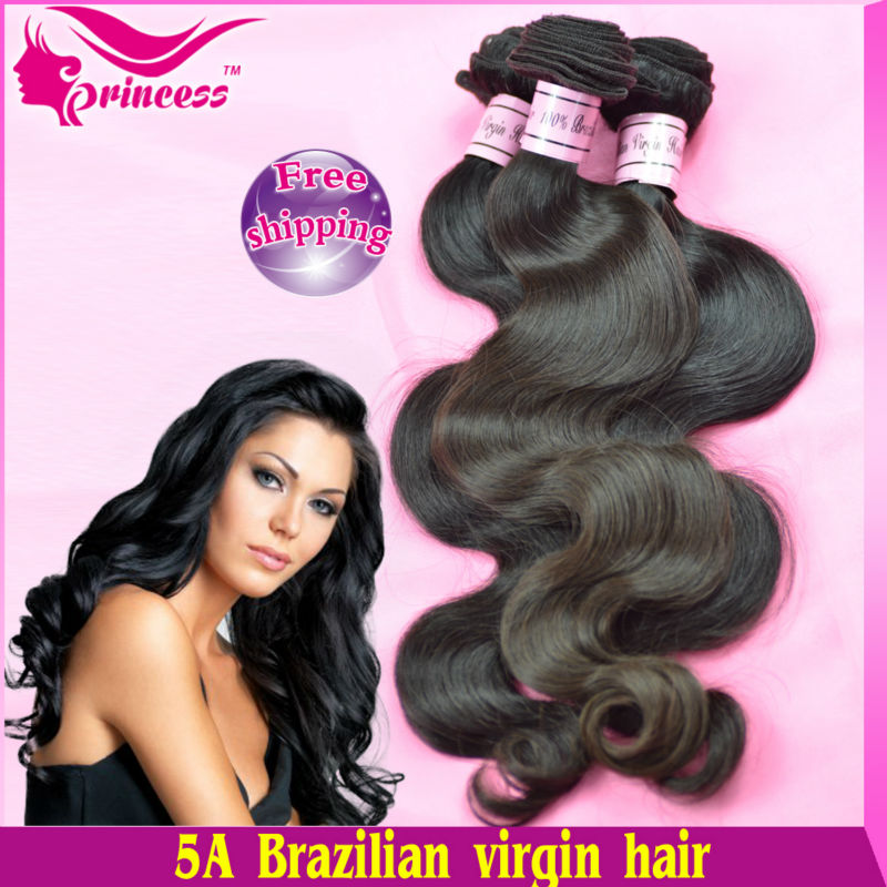 brazilian virgin hair extension,mix length ,brazil weft, ,Body Wave,12 inch-30 inch,hair weave, ,1b (3.5oz/pc) - Princess products co.,LTD store
