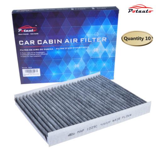 POTAUTO MAP1029C10pk Carbon Car Cabin Air Filter for HYUNDAI, Santa Fe, KIA(China (Mainland))