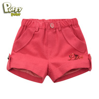 Freeshipping summer Classic suit short pants Child girls Kids baby lady print Casual cotton Shorts Pants Trousers LCQS4302