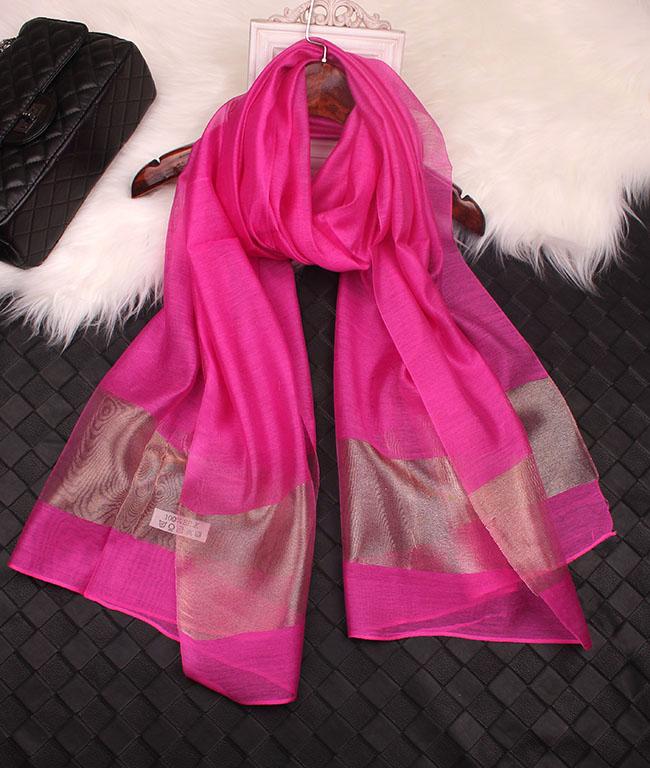 2015 Spring brand scarf women High quality fashion Gold silk scarf fashion scarves d esigual scarf female bufandas mujer(China (Mainland))