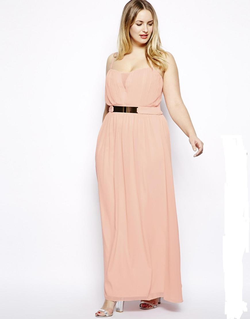 Fashion design sexy long maxi chiffon party dress plus size casual dress with Belt decoraion for ...