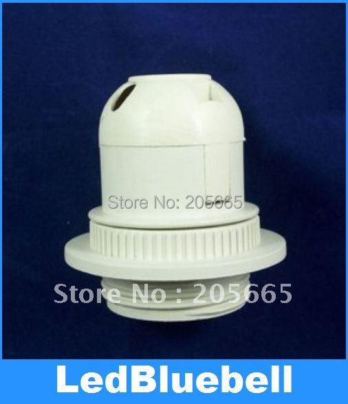 E27 screw semi-tooth lampholder / display E27 lampholders / lamp / chandelier dedicated E27 plastic lamp holder(China (Mainland))