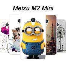 Meizu м2 мини чехол тпу новая волна чехол для Meizu м2 мини крышка чехол мультфильм Meizu m2 мини-телефон чехол + фильм