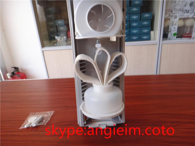 refillable aroma dispenser automatic aerosol dispenser fan fragrance machine liquid perfume essential oil refill air purifier(China (Mainland))
