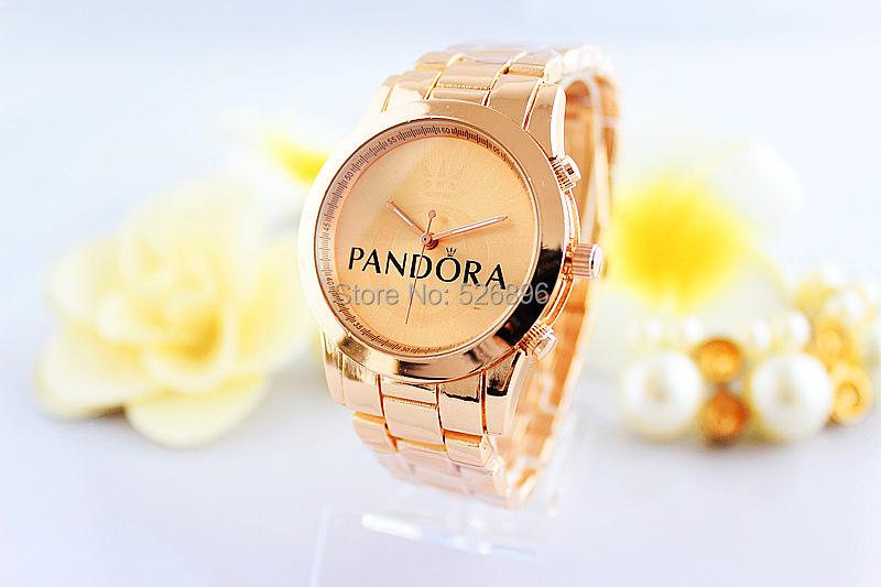 Top Brand Luxury Fashion Ladies Watch Women Full Logo Watches Rose Gold Female Quartz Clock Relojes De Marca Mujer(China (Mainland))