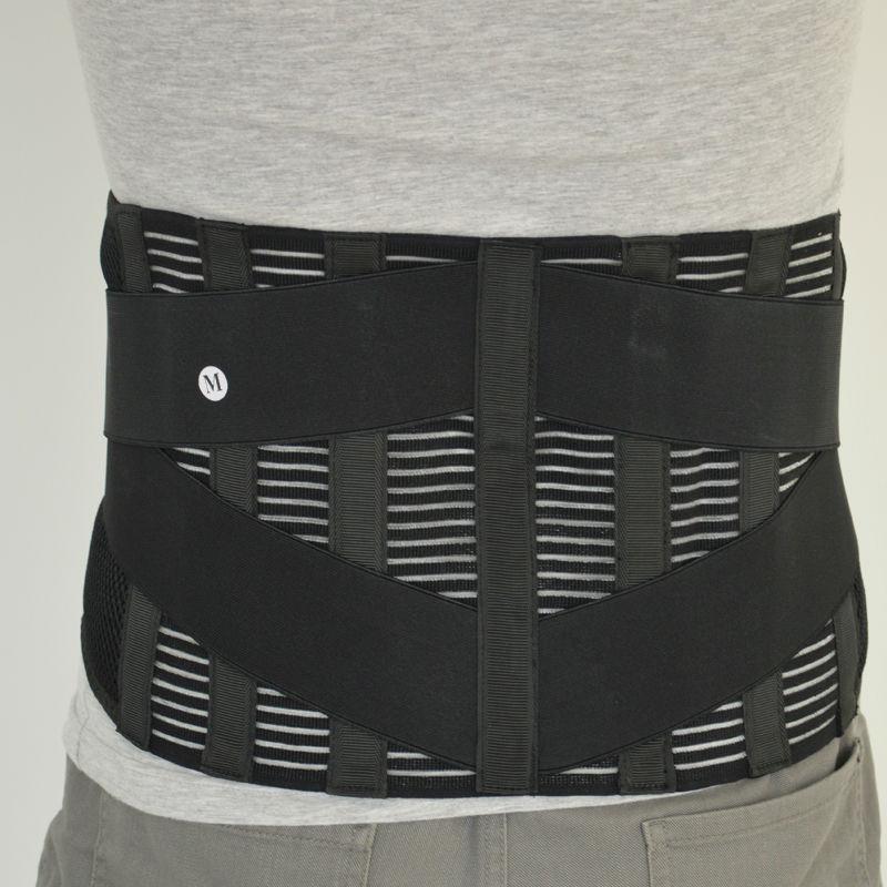 Medical Belt Orthopedic Corset Back Support Men Back Waist Suporte Belts postural correction Breathable Double-side Pulls Y015(China (Mainland))