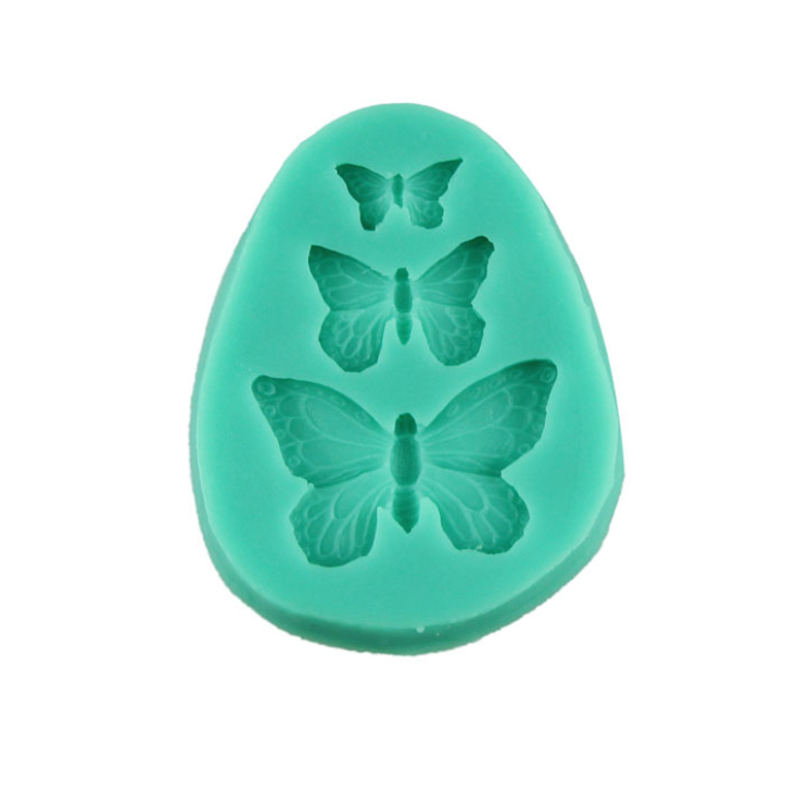 Fantastic 3D Butterfly Silicone Fondant Cake Molds Soap Chocolate Mould - Milky Stars store