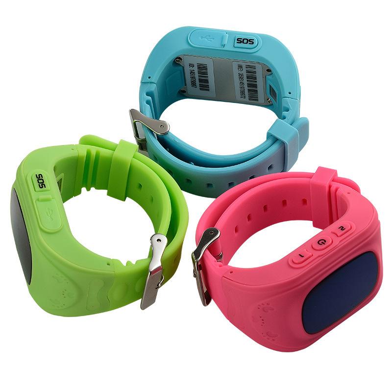 ถูก 1ชิ้นเด็กเด็กเด็กsmart watch gsm gprs gps l ocatorติดตามป้องกันการสูญหายสมาร์ทนาฬิกาข้อมือยามสำหรับiOS A Ndroidมินิร้อนH4