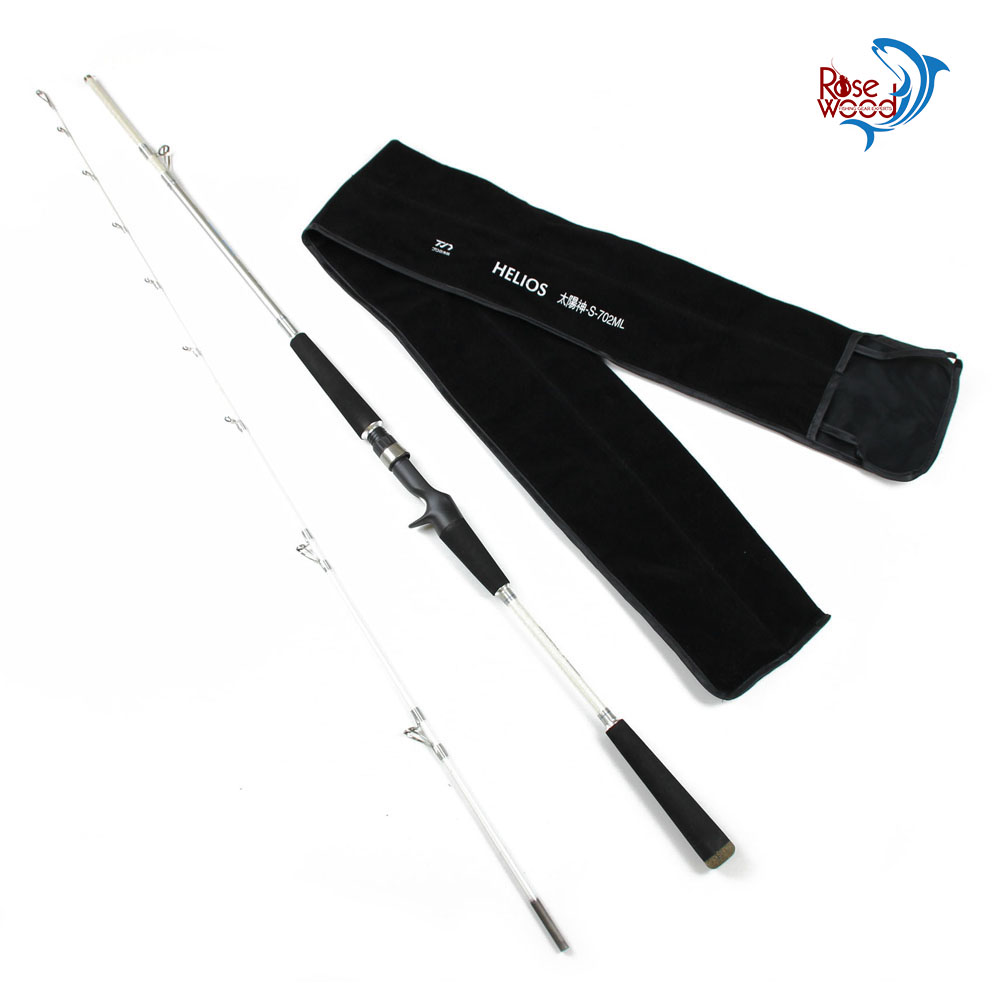 Cheap casting rod 1.9m carbon firber baitcasting fishing rod lure beach carp fishing canne a peche casting pesca 2 sections