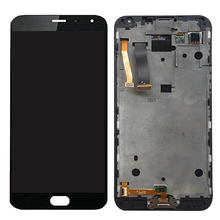 Newest High Quality Mobile Phone iPartsBuy LCD Screen + Touch Screen Digitizer Assembly for Meizu MX5