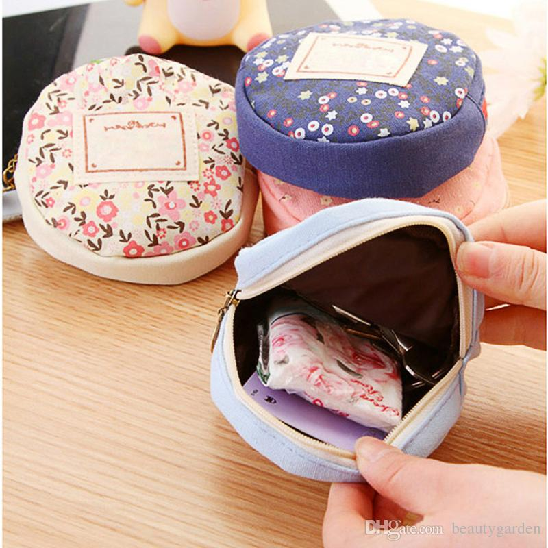 Здесь можно купить  100pcs/lot Sweet Garden Design Purse Mini Portable Round Wallet Colth Coins Change Moneybag HJ325 100pcs/lot Sweet Garden Design Purse Mini Portable Round Wallet Colth Coins Change Moneybag HJ325 Камера и Сумки