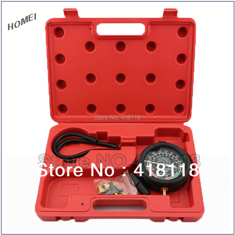 Universal Vacuum Tester&Fuel Pump Gauge&Fuel Pump Tester Car Truck Tool,Professional Vehicle Maintenence Tools(China (Mainland))
