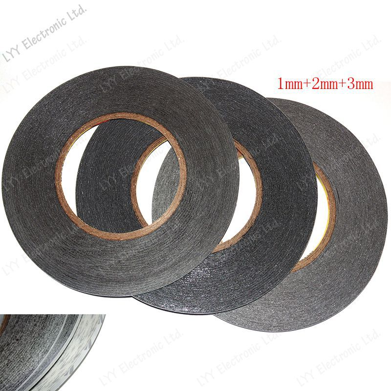 1mm+2mm+3mm 150Meter 3M Double Sided Adhesive Tape for Touch Screen /Display /Housing /Case /Cable Sticky free shipping(China (Mainland))