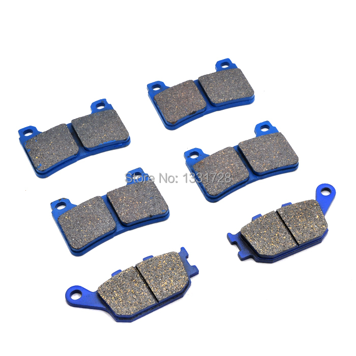 Brand New Motorcycle Honda CBR 1000 CBR1000 RR 04-05 Front+Rear Brake Pads - Handsome Accessories store