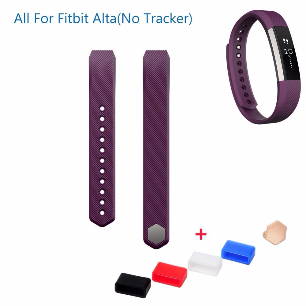 Fitbit Alta Replacement Silicone Wristband Bracelet/Wireless Activity Tracker Accessories Silicon Wrist Strap with Safety Buckle(China (Mainland))